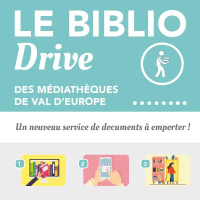 Biblio drive des médiathèques