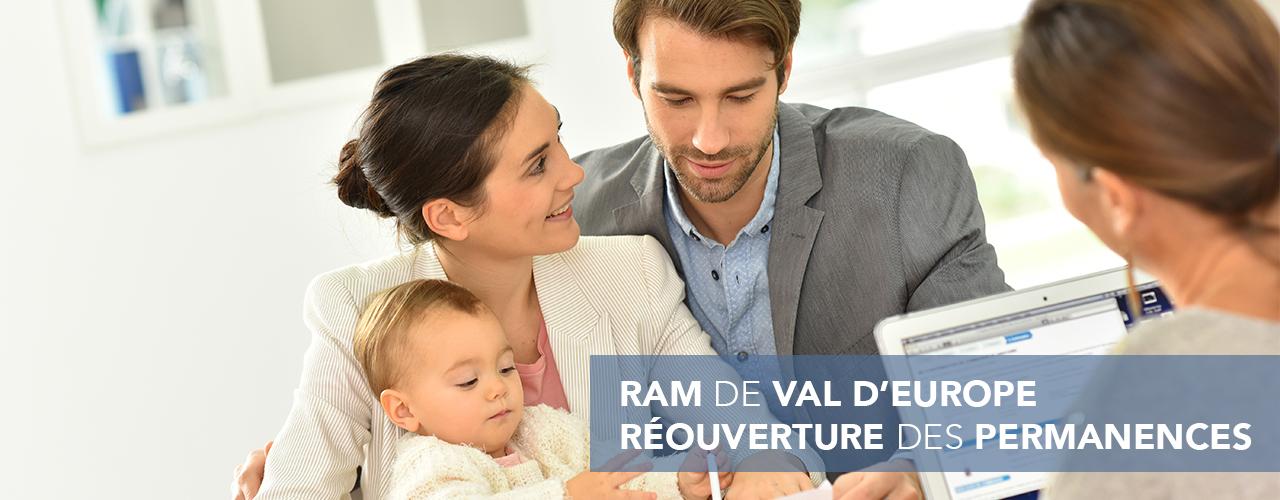 Réouverture des permanences du Relais Parents Assistants Maternels de Val d'Europe