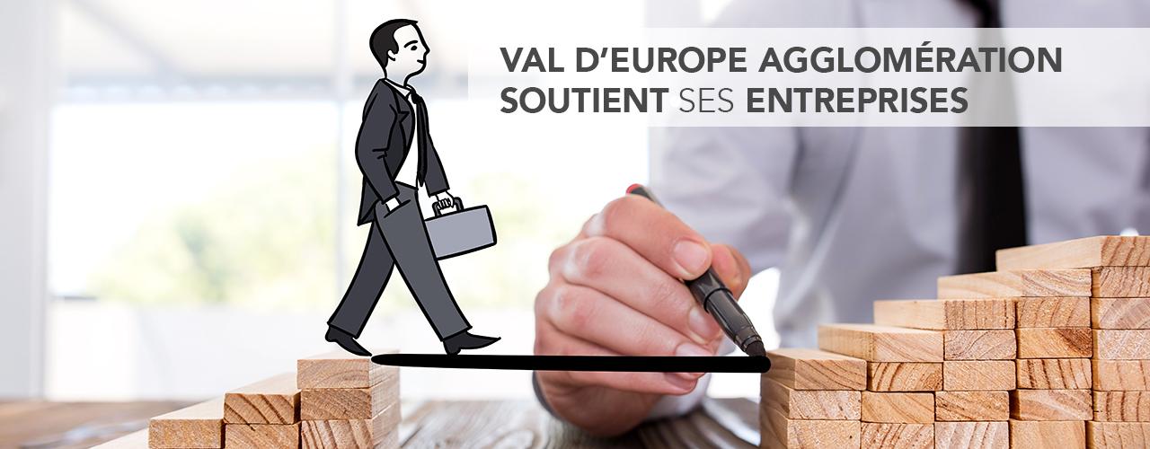 Val d'Europe Agglomération soutient ses entreprises