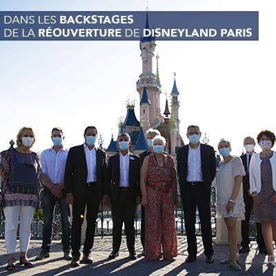 Reouverture Disneyland Paris
