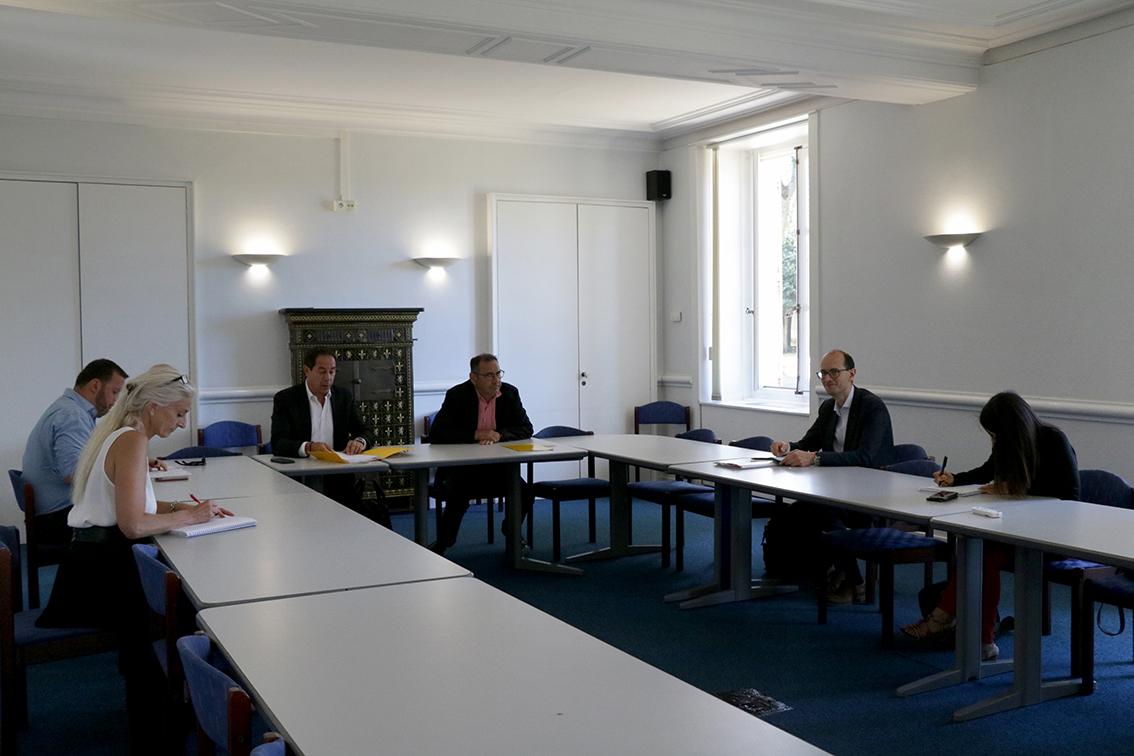 Première réunion de travail sur la projet EPIDE à Montry