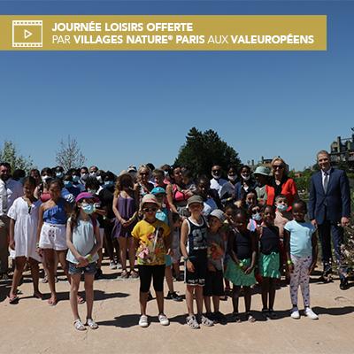 Une nouvelle journée loisirs offerte par Villages Nature Paris, acteur touristique majeur de Val d'Europe