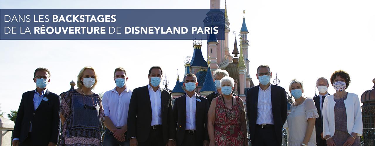 Dans les backstages de la réouverture de Disneyland Paris