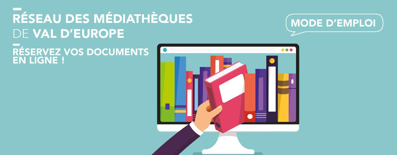 Réservez vos documents en ligne