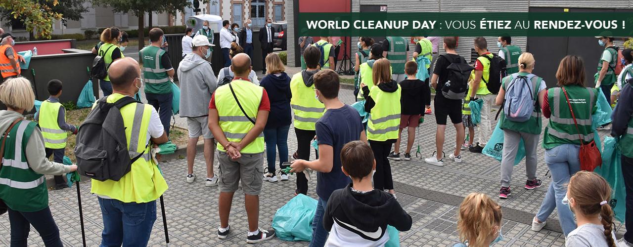 World Cleanup day : vous étiez au rendez-vous !
