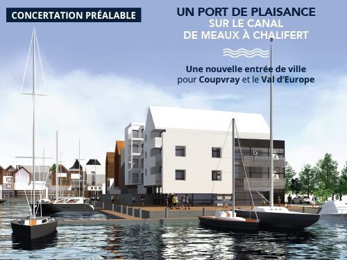 Concertation préalable – Port de plaisance de Coupvray