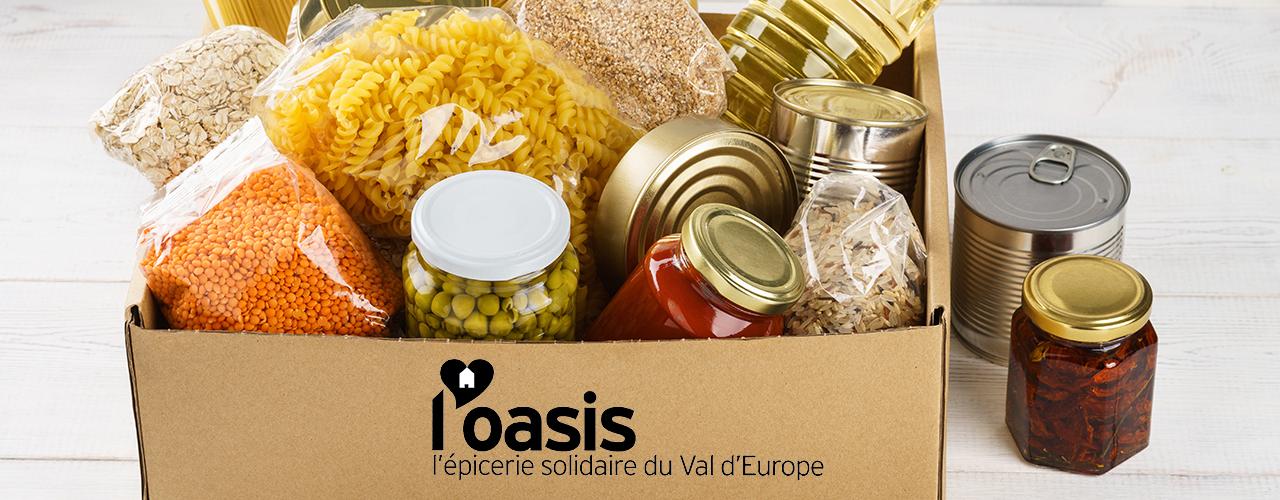 Collecte annuelle pour l'épicerie solidaire l'Oasis