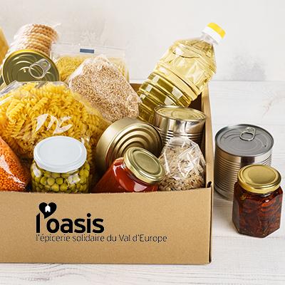 Oasis épicerie solidaire du Val d'Europe