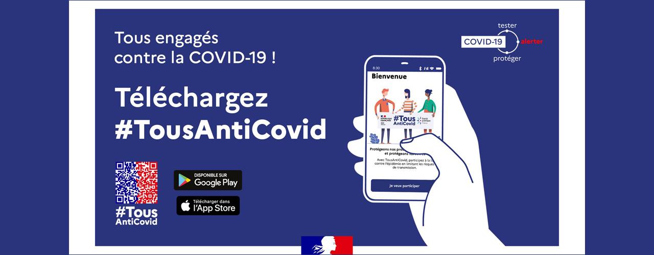 Application Tous Anti-Covid
