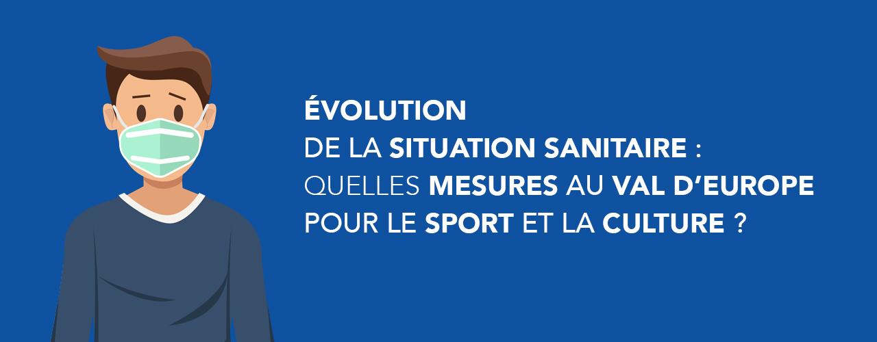 Évolution de la situation sanitaire : quelles mesures au Val d'Europe pour le sport et la culture ?
