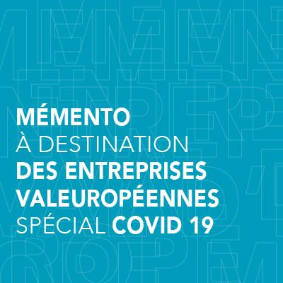 MàJ 02/12/2020 - Mémento à destination des entreprises valeuropéennes