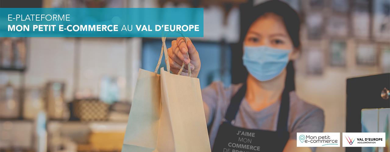 Mon petit e-commerce au Val d'Europe