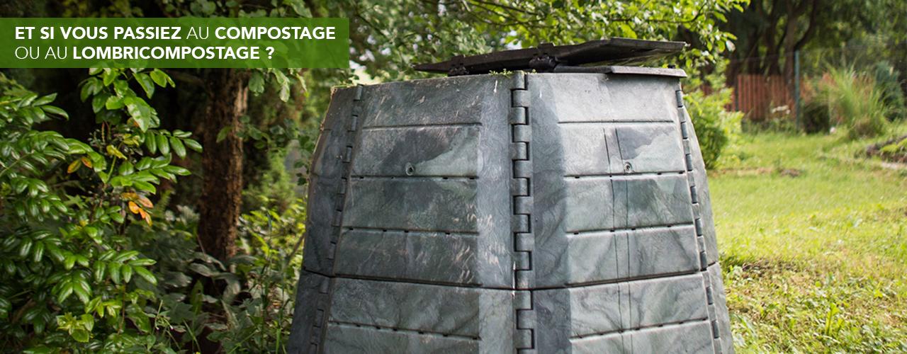 Et si vous passiez au compostage ou au lombricompostage ?