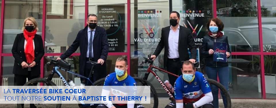 La traversée Bike Coeur : tout notre soutien à Baptiste et Thierry !