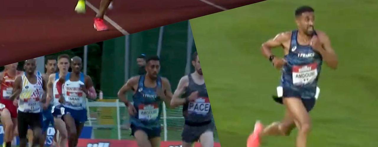 Il l'a fait : Morhad Amdouni a remporté la coupe d'Europe du 10 000 m !