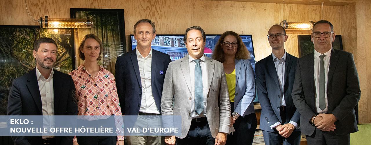 EKLO : nouvelle offre hôtelière au Val d'Europe