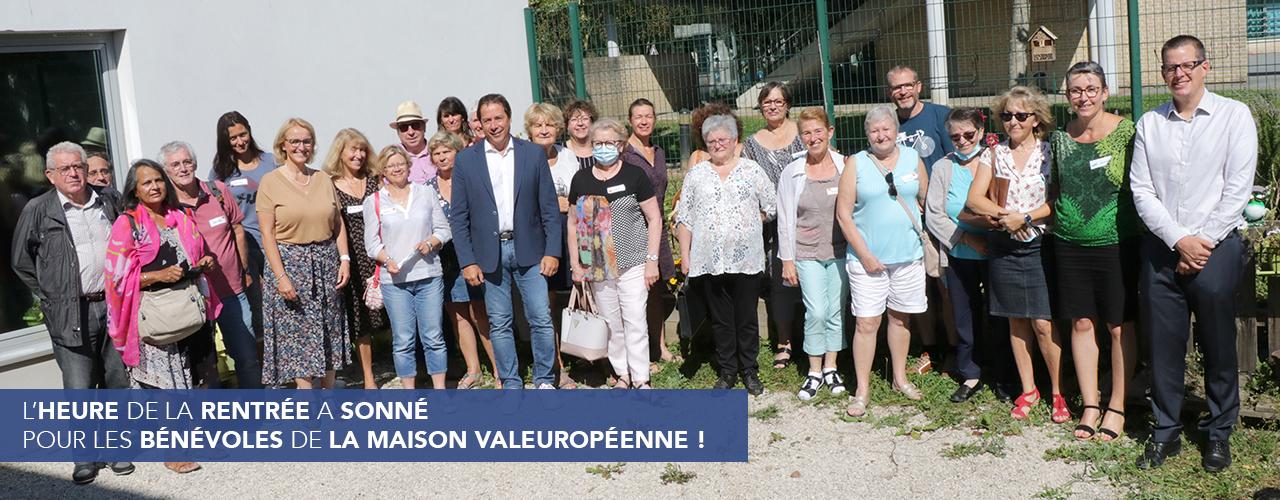L'heure de la rentrée a sonné pour les bénévoles de la Maison Valeuropéenne